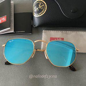Ray-Ban 3548N Hexagonal Sunglasses unisex